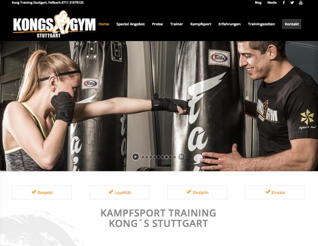 Kongs gym
